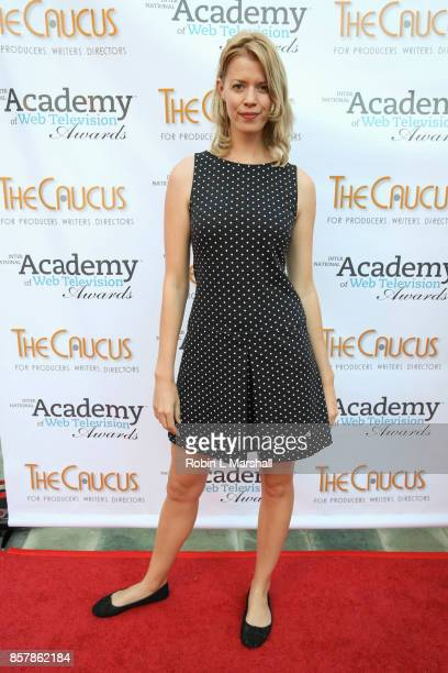 Maria Leicy attends the 5th Annual International Academy of Web Television Awards at Skirball Cultural Center on October 4 2017 in Los Angeles...