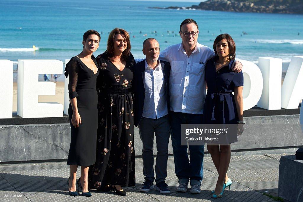 'El Autor' Photocall - 65th San Sebastian Film Festival
