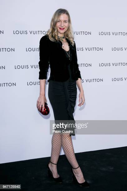 Maria Leon attends the 'Time Capsule' Inauguration party at ThyssenBornemisza Museum on April 16 2018 in Madrid Spain