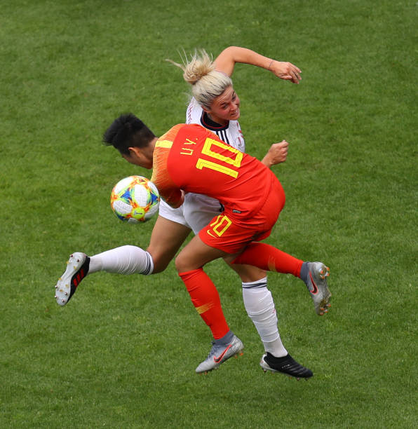 FRA: China PR v Spain: Group B - 2019 FIFA Women's World Cup France