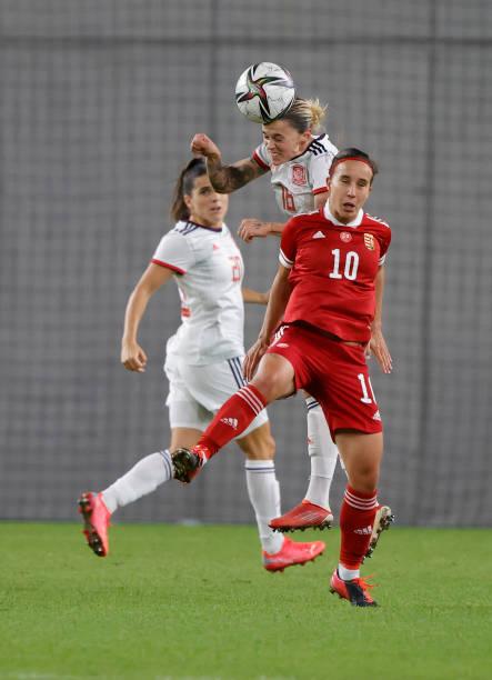 HUN: Hungary v Spain: Group B - FIFA Women's WorldCup 2023 Qualifier