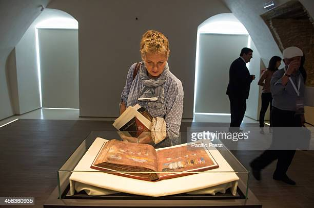 Maria Letizia Sebastiani of ICRCPAL Director with the Codex In October 2015 it was recognized as a World Heritage Site by Unesco and inserted between...