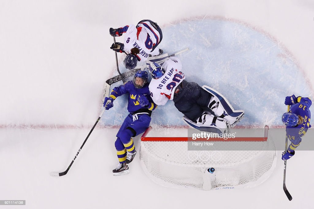 KOR: Ice Hockey - Winter Olympics Day 11