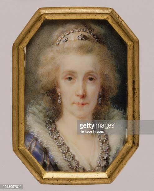 Maria Louisa , Empress of Austria, circa 1790. Artist Heinrich Friedrich Füger.