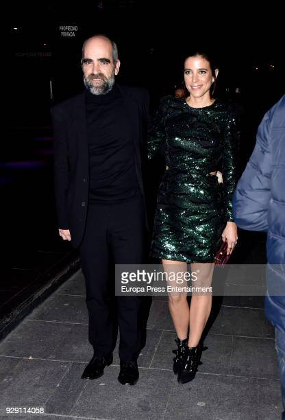 Maria Luisa Mayol and Luis Tosar attend 'Loving Pablo' premiere at Callao cinema on March 7 2018 in Madrid Spain