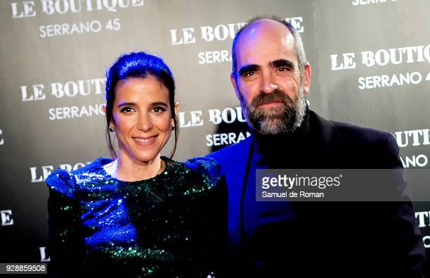 Maria Luisa Mayol and Luis Tosar attend the after party of 'Loving Pablo' premiere at Le Boutique Club on March 7 2018 in Madrid Spain