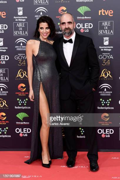 Maria Luisa Mayol and Luis Tosar attend the Goya Cinema Awards 2020 during the 34th edition of the Goya Cinema Awards at Jose Maria Martin Carpena...