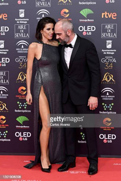Maria Luisa Mayol and Luis Tosar attends the Goya Cinema Awards 2020 during the 34th edition of the Goya Cinema Awards at Jose Maria Martin Carpena...