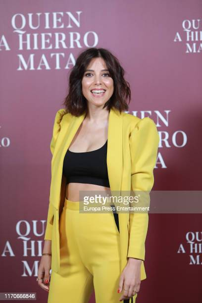 Maria Luisa Mayol attends `Quien A Hierro Mata´ photocall on August 27 2019 in Madrid Spain