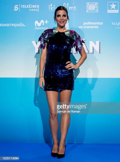 Maria Luisa Mayol attends the 'Yucatan' premiere at Kinepolis cinema on August 29 2018 in Madrid Spain