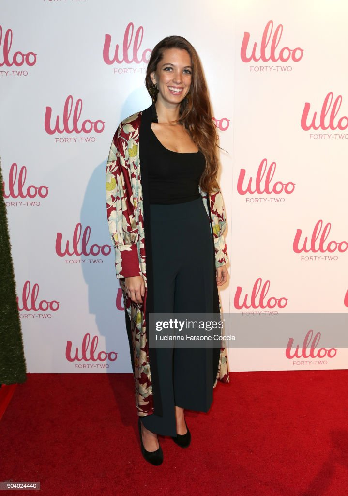 Maria Luna attends Ulloo 42 Launch Party on January 11, 2018 in Los Angeles, California.