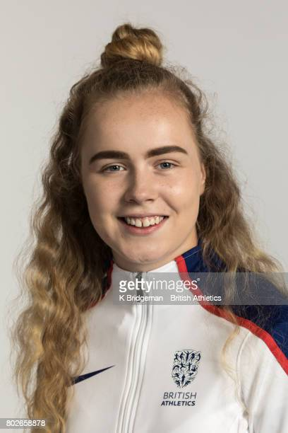 Maria Lyle of Great Britain poses for a portrait during the British Athletics World Para Athletics Championships Squad Photo call on June 25 2017 in...