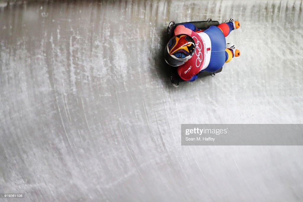Skeleton - Winter Olympics Day 8 : ニュース写真