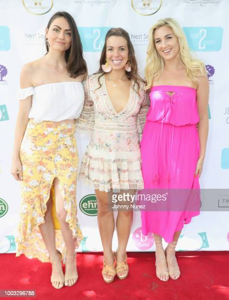Maria Marlowe, Vanessa Gordon and Liana Werner-Gray attend The Inaugural Hamptons Interactive Influencer Brunch Hosted By East End Taste Produced By...