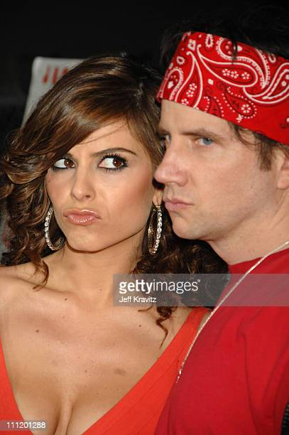 Maria Menounos and Jamie Kennedy during Kickin' It Old Skool Los Angeles Premiere After Party at Music Box in Los Angeles California United States