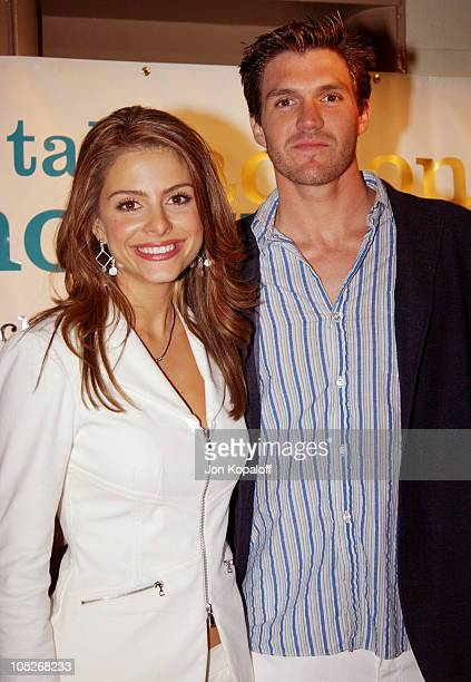 Maria Menounos and professional baseball player Barry Zito