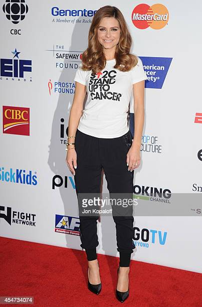 Maria Menounos arrives at Hollywood Unites For The 4th Biennial Stand Up To Cancer A Program Of The Entertainment Industry Foundation at Dolby...