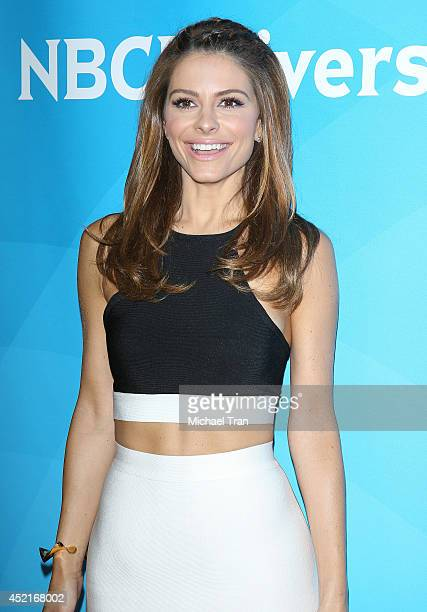 Maria Menounos arrives at the 2014 Television Critics Association Summer Press Tour - NBCUniversal - Day 2 held at The Beverly Hilton Hotel on July...