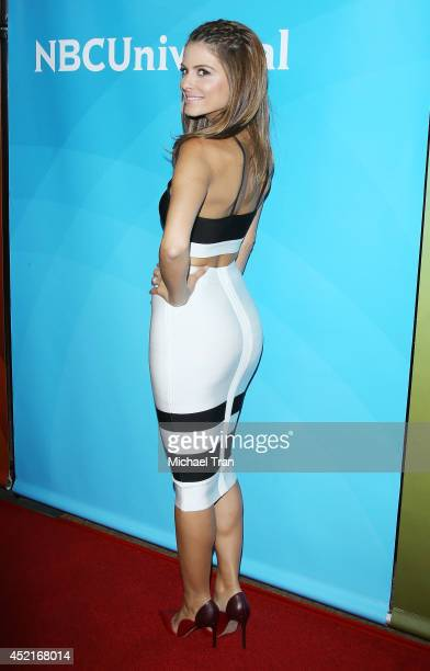 Maria Menounos arrives at the 2014 Television Critics Association Summer Press Tour NBCUniversal Day 2 held at The Beverly Hilton Hotel on July 14...
