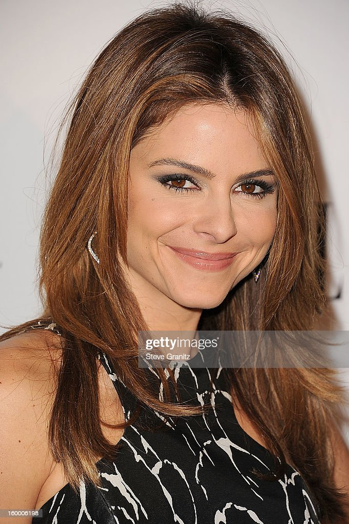 Maria Menounos arrives at the ELLE's 2nd Annual Women In Television Celebratory Dinner at Soho House on January 24, 2013 in West Hollywood, California.