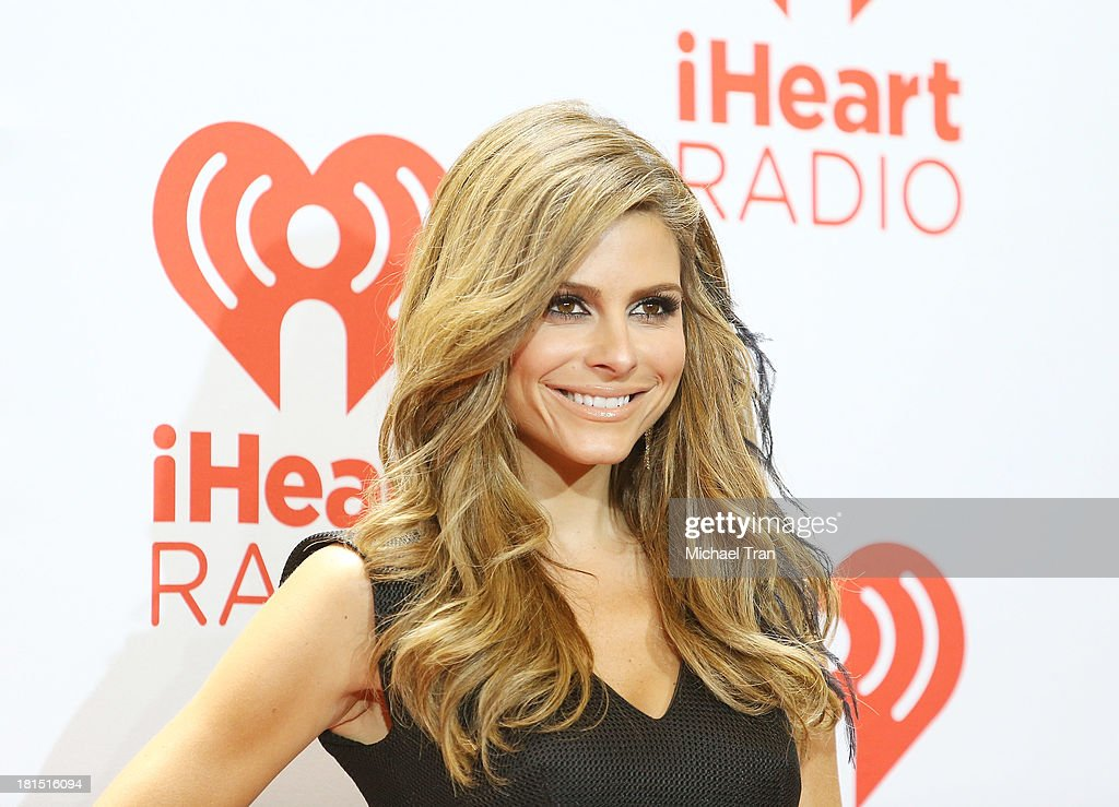 Maria Menounos arrives at the iHeartRadio Music Festival - press room - Day 2 held on September 21, 2013 in Las Vegas, Nevada.