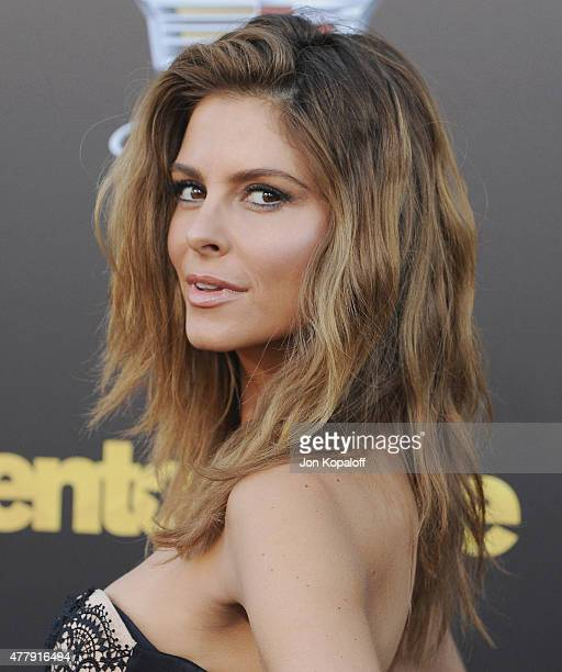 Maria Menounos arrives at the Los Angeles Premiere Entourage at Regency Village Theatre on June 1 2015 in Westwood California
