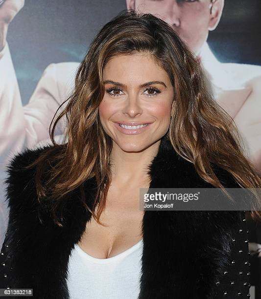 Maria Menounos arrives at the Premiere of Live By Night at TCL Chinese Theatre on January 9 2017 in Hollywood California