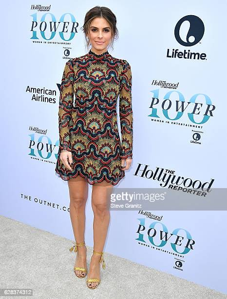 Maria Menounos arrives at the The Hollywood Reporter's 25th Annual Women In Entertainment Breakfast at Milk Studios on December 7 2016 in Hollywood...