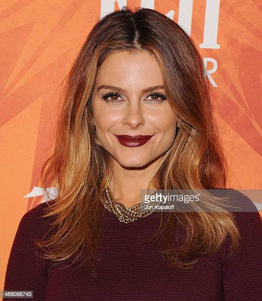 Maria Menounos arrives at the Variety And Women In Film Annual Pre-Emmy Celebration at Gracias Madre on September 18, 2015 in West Hollywood,...