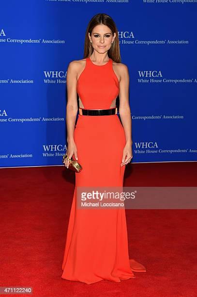 Maria Menounos attends the 101st Annual White House Correspondents' Association Dinner at the Washington Hilton on April 25 2015 in Washington DC