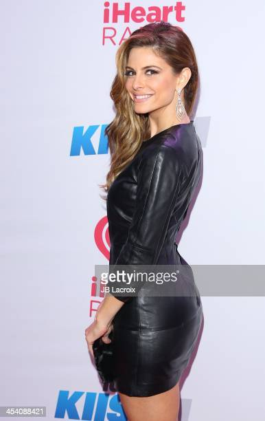 Maria Menounos attends the 2013 KIIS FM's Jingle Ball held at Staples Center on December 6 2013 in Los Angeles California