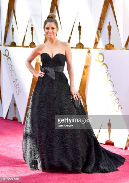 Maria Menounos attends the 90th Annual Academy Awards at Hollywood Highland Center on March 4 2018 in Hollywood California