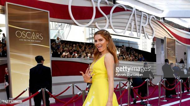 Maria Menounos attends the 91st Annual Academy Awards at Hollywood and Highland on February 24 2019 in Hollywood California