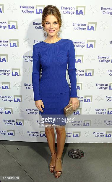 Maria Menounos attends the Emerson College Los Angeles Grand Opening Gala on March 8 2014 in Los Angeles California