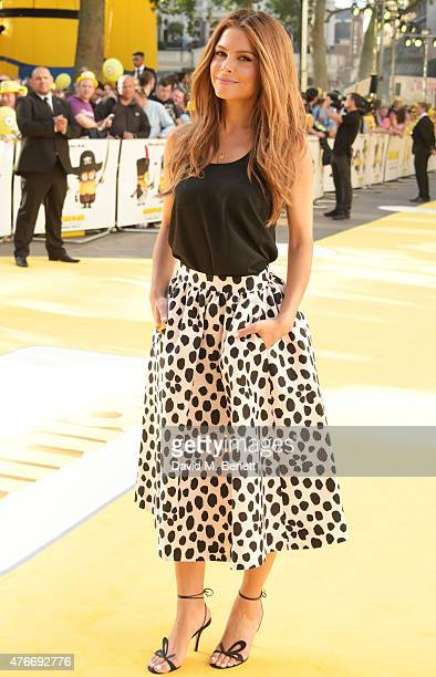 Maria Menounos attends the World Premiere of 'Minions' at Odeon Leicester Square on June 11 2015 in London England