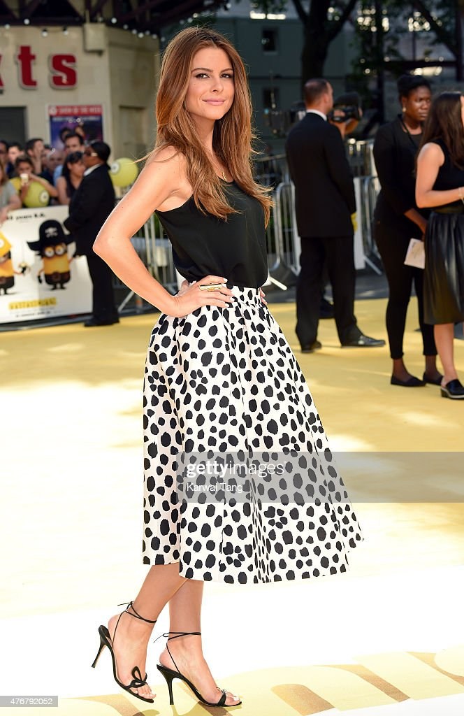 Maria Menounos attends the World Premiere of 'Minions' at Odeon Leicester Square on June 11, 2015 in London, England.