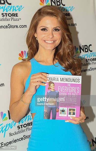 Maria Menounos celebrates Untold With Maria Menounos series premiere at NBC Experience Store on July 16 2014 in New York City