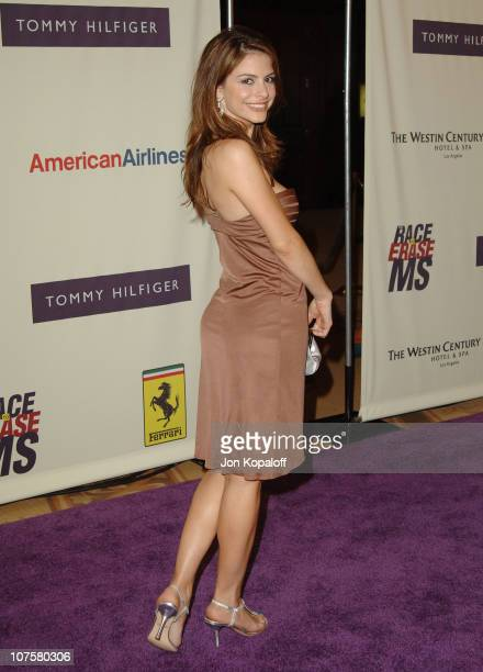 Maria Menounos during 12th Annual Race to Erase MS Themed Rock Royalty to Erase MS Arrivals at The Westin Century Plaza Hotel Spa in Los Angeles...