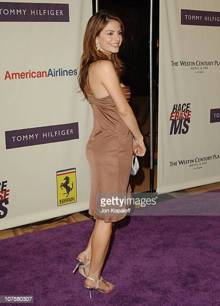 Maria Menounos during 12th Annual Race to Erase MS Themed 'Rock Royalty to Erase MS' Arrivals at The Westin Century Plaza Hotel Spa in Los Angeles...