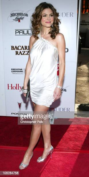 Maria Menounos during 2004 Movieline Young Hollywood Awards - Red Carpet Sponsored by Hollywood Life at Avalon Hollywood in Hollywood, California,...