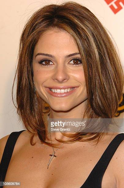 Maria Menounos during 2005 Spike TV Video Game Awards Arrivals at Gibson Amphitheater in Universal City California United States