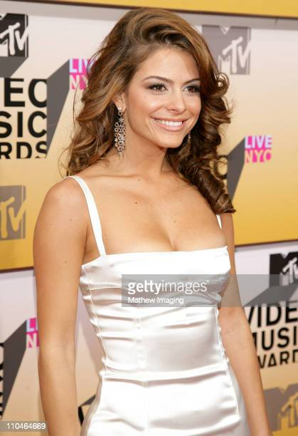 Maria Menounos during 2006 MTV Video Music Awards Arrivals at Radio City Music Hall in New York City New York United States