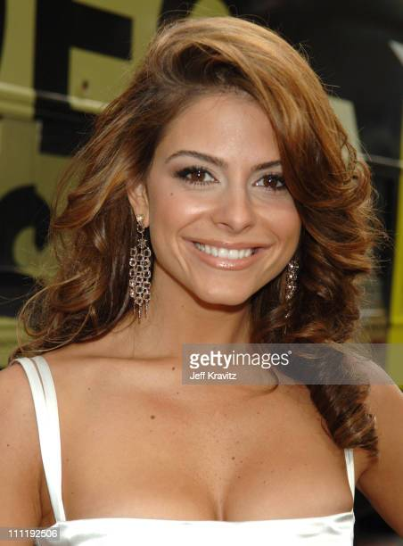 Maria Menounos during 2006 MTV Video Music Awards Red Carpet at Radio City Music Hall in New York City New York United States
