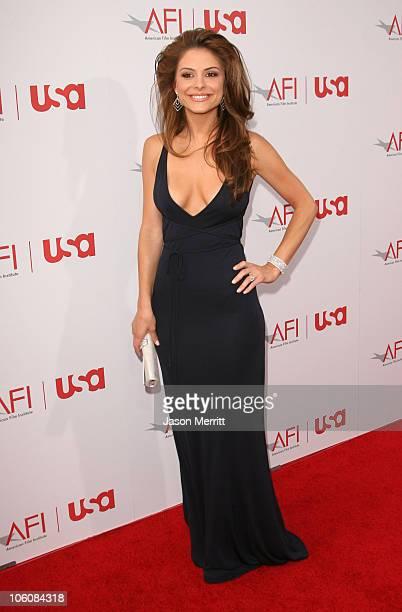 Maria Menounos during 34th AFI Life Achievement Award to