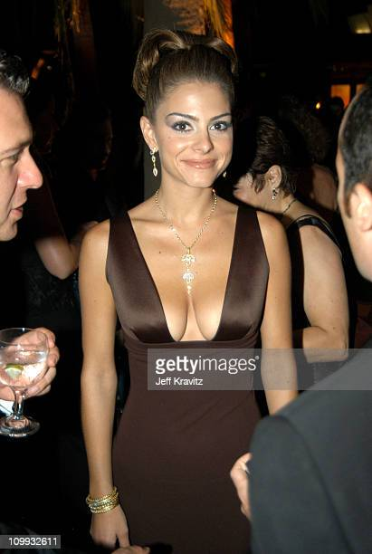 Maria Menounos during 55th Annual Primetime Emmy Awards Governors Ball at The Shrine Auditorium in Los Angeles California United States