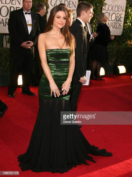 Maria Menounos during 64th Annual Golden Globe Awards - Arrivals at Beverly Hilton in Beverly Hills, CA, United States.