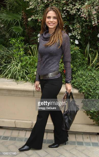 Maria Menounos during 9th Annual Premiere Magazine 'Women In Hollywood' Luncheon at The Four Seasons Hotel in Beverly Hills California United States