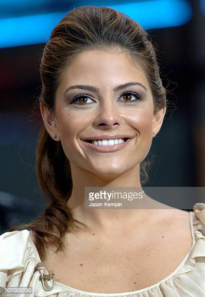 Maria Menounos during John Mayer Performs on the Today Show August 25 2006 at Rockefeller Center in New York City New York United States