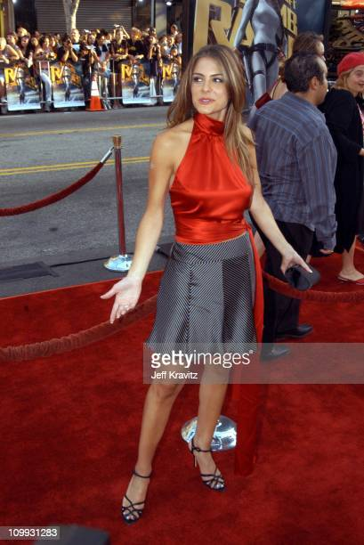 Maria Menounos during Lara Croft Tomb Raider The Cradle of Life World Premiere at Grauman's Chinese Theatre in Hollywood California United States