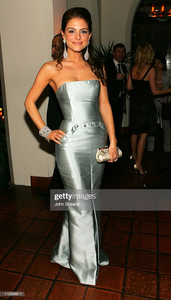 Maria Menounos during Lionsgate 2006 Oscar Party at Chateau Marmont in West Hollywood, California, United States.